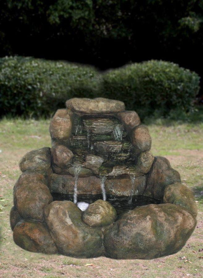 Fontana decorativa da giardino mz 11749 ga arredo giardino - Giardini del re ...