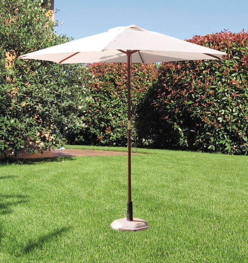 Giardini del re ombrellone da giardino diametro 2 5 metri - Ombrelloni da giardino brico ...