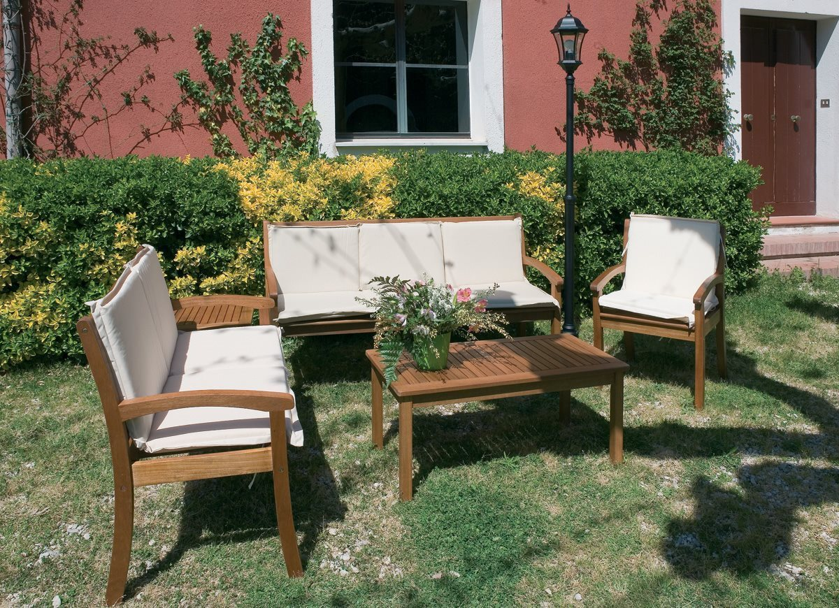 Panchina da giardino in legno per esterni panca serata 2 for Garden arredo giardino