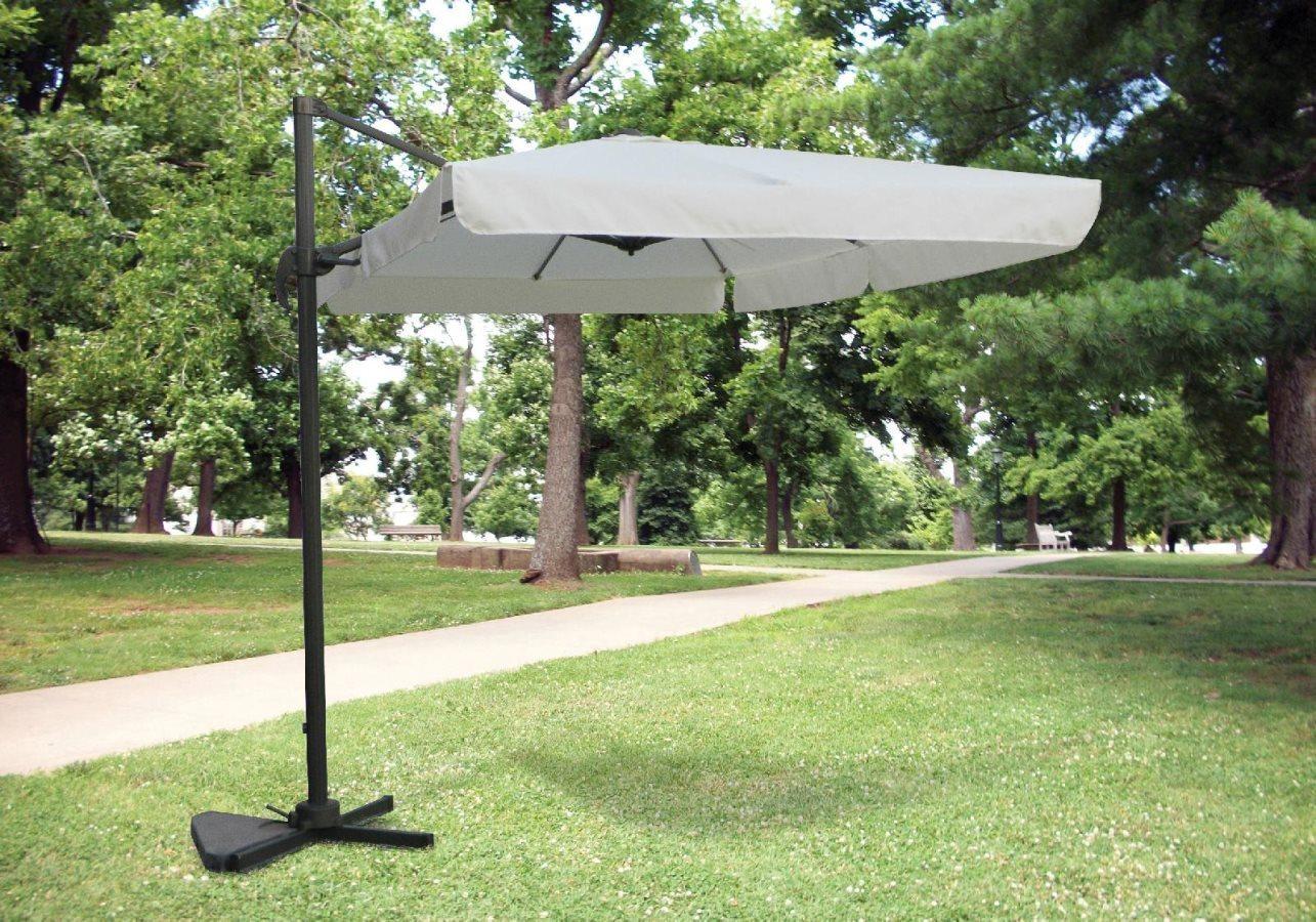 Giardini del re ombrellone 2x3 metri da esterno giardino - Ombrelloni da giardino brico ...