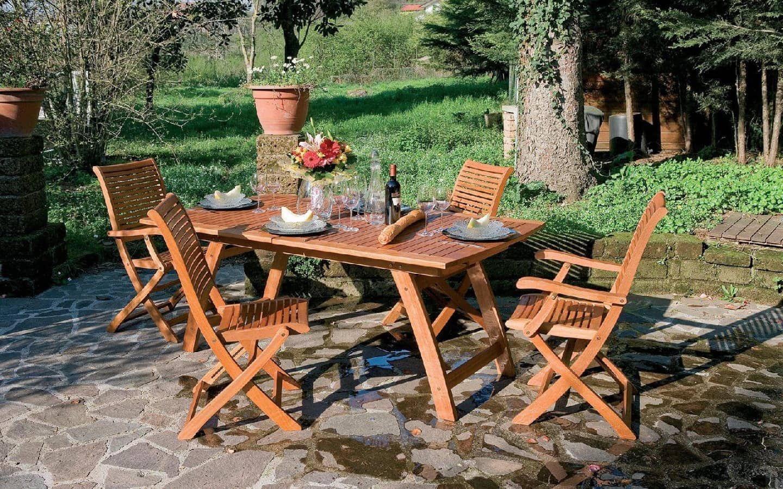 giardini del re tavolo tavolino da esterno giardino in legno balau ... - Tavolo Da Giardino In Legno Balau