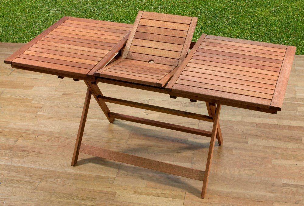 tavolo da giardino allungabile 120 160x70 arredo