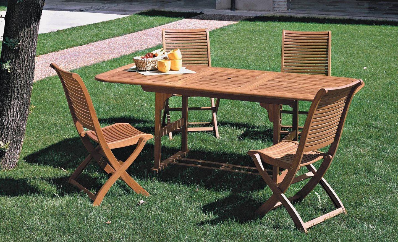 Tavolo da giardino in legno riviera  arredo