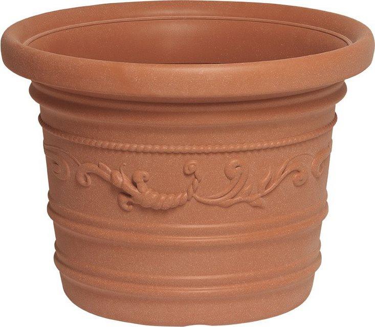 Giardini del re vaso per piante in resina festonato da for Piante da vaso per esterno