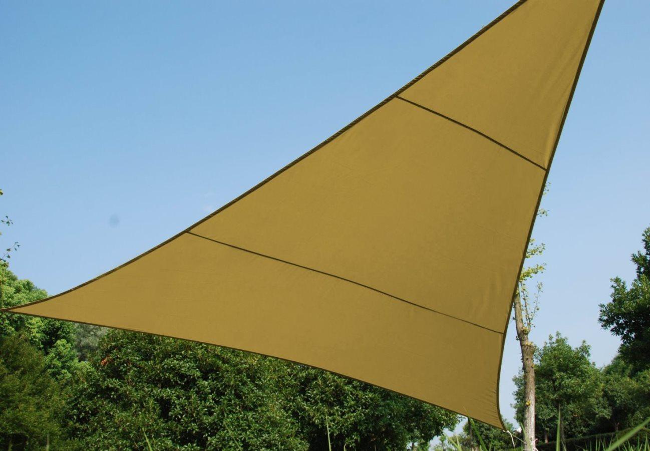 Vela ombreggiante triangolare 5x5x5 arredo giardino e for Groupon giardino