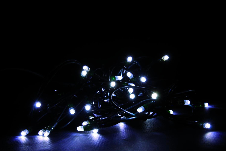 Giocoplast luci natalizie 40 lucciolone led bianco 230 volt per
