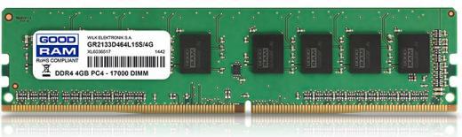 GOODRAM Memoria RAM 4GB Dimm DDR4 2133 Mhz CL15 GR2133D464L15S4G