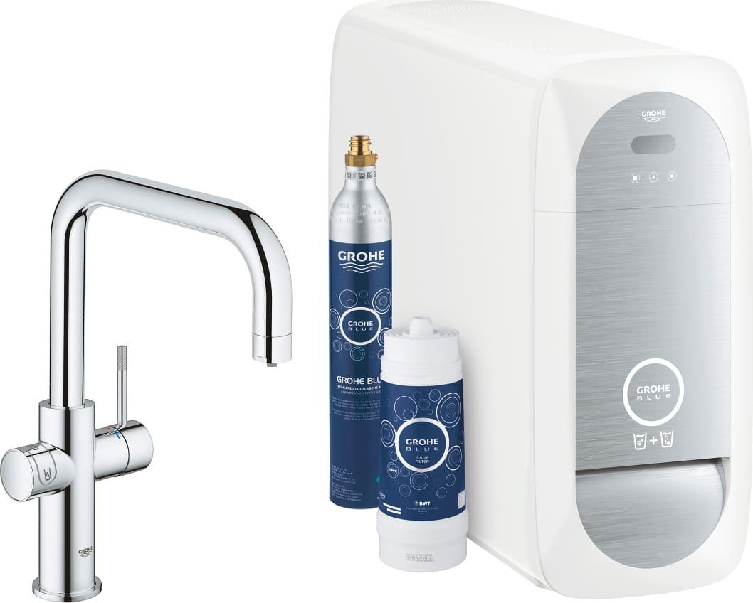 Grohe miscelatore cucina rubinetto monocomando con depuratore acqua