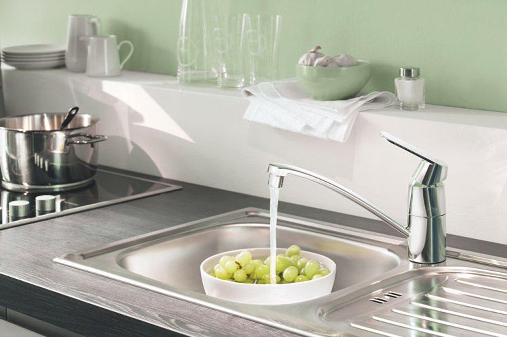 Grohe miscelatore cucina rubinetto monocomando colore cromo