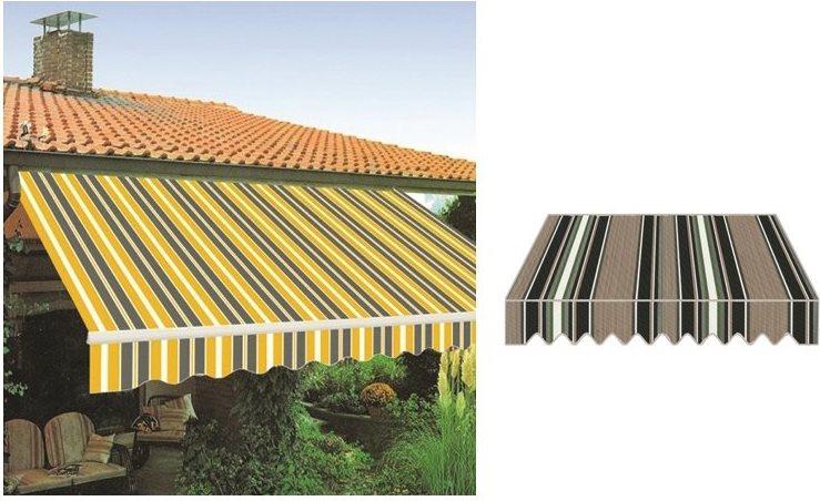 Tende Da Sole Per Balcone : Giardini del re tenda da sole per balconi a rullo bracci