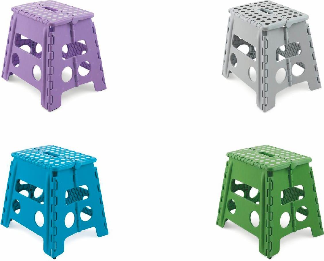 Sgabelli Pieghevoli In Plastica.Galileo Sgabello Pieghevole In Plastica 31x20x30h Cm Portata Max