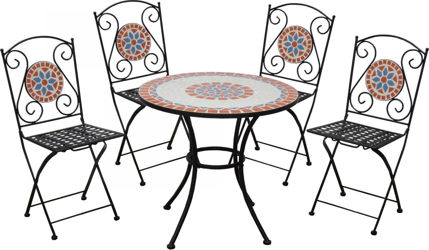 Tavolo Da Giardino Pieghevole Con Sedie.Garden Friend Tavolo E Sedie Da Giardino Set Tavolo Con 4 Sedie