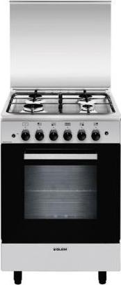 Glem gas cucina a gas 4 fuochi forno a gas con grill - Cucina a gas glem ...