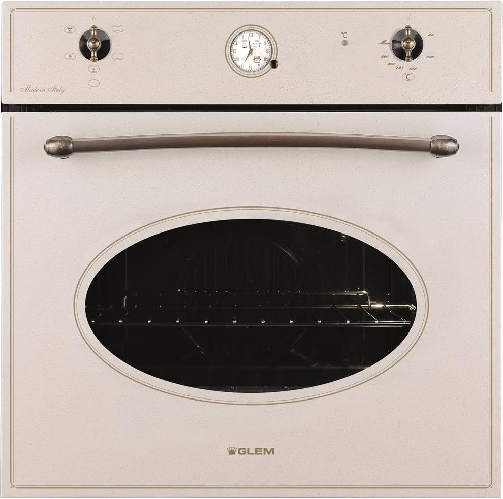 Forno glem gas gft54san serie tradizione forno da incasso elettrico ventilato con grill - Forno incasso a gas ventilato ...