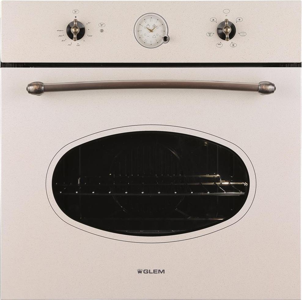 Forno glem gas gft64san serie tradizione forno da incasso elettrico ventilato con grill - Forno incasso a gas ventilato ...