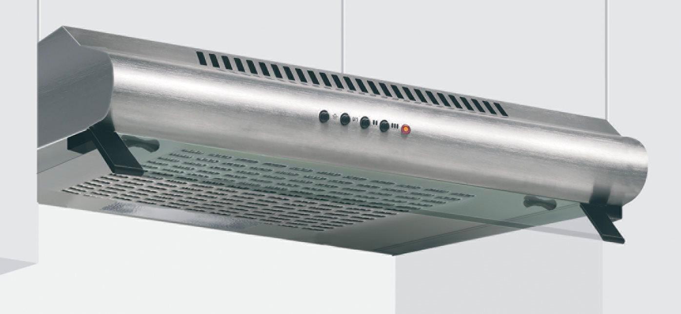 Cappa Glem Gas GHC60IX - Cappa cucina 60 cm aspirante da incasso ...