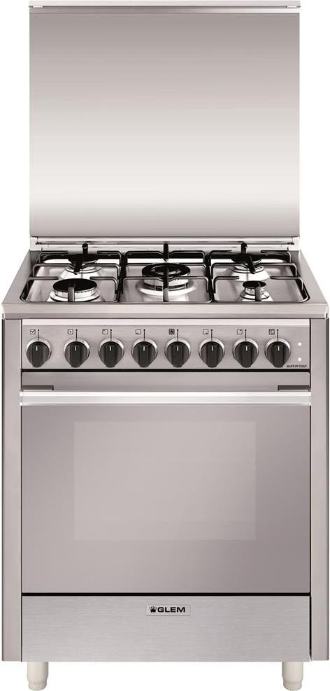 Glem Gas Cucina A Gas 5 Fuochi Forno Elettrico