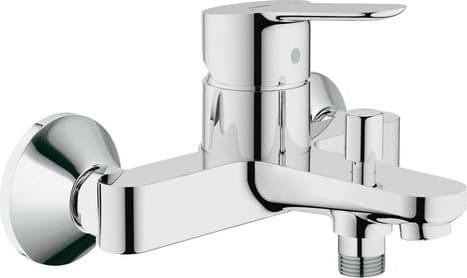Rubinetto Vasca Da Bagno : Grohe rubinetto miscelatore da parete vasca da bagno cromatura