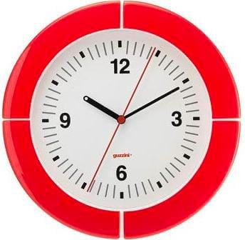 Guzzini Orologio da Parete ø 37 cm colore Rosso - 28950065 i-clock