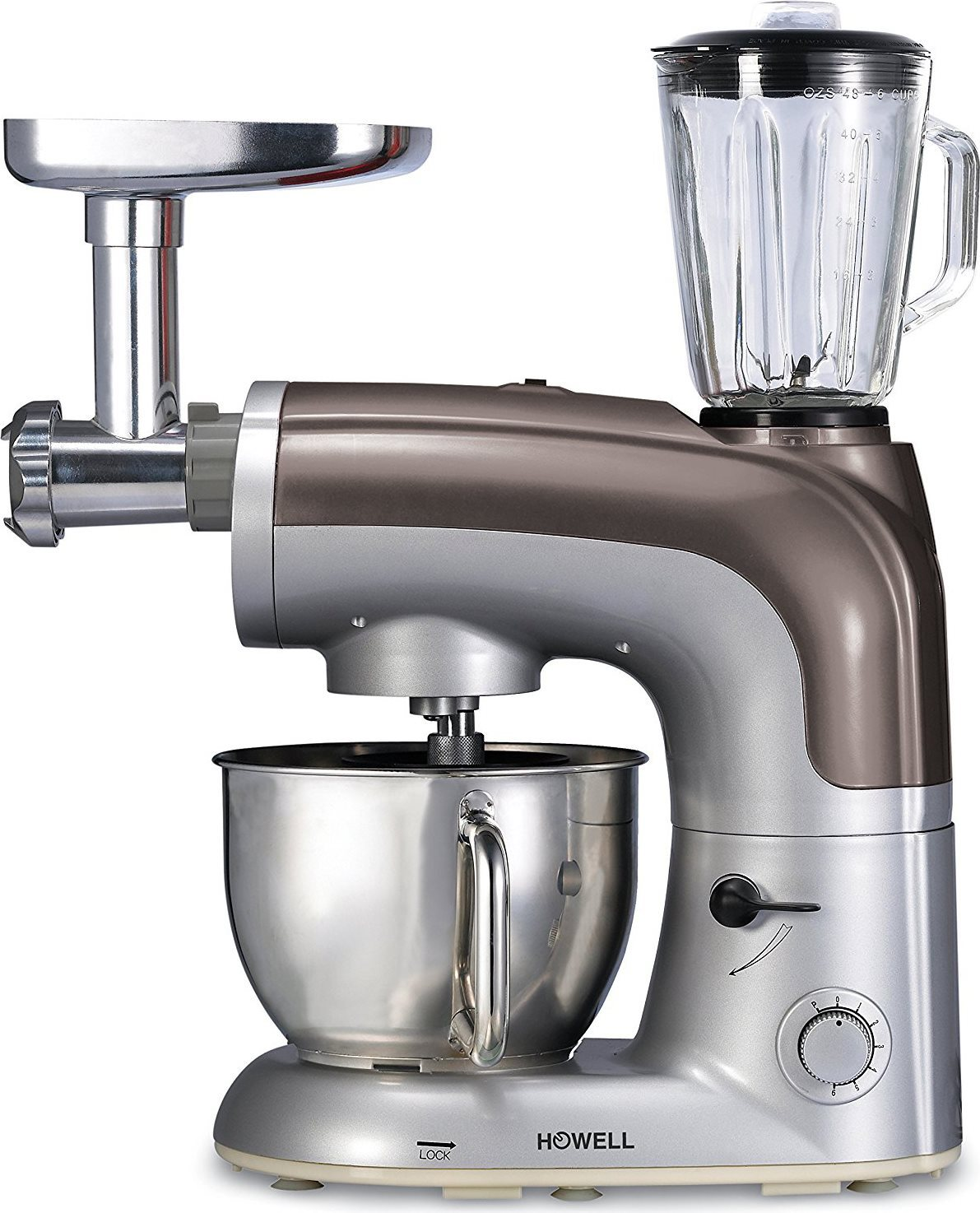 HOWELL Robot da Cucina Impastatrice Professionale multifunzione ...