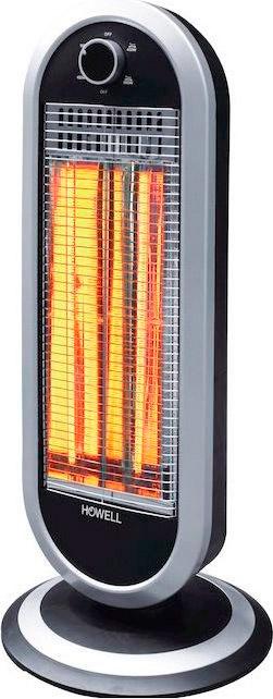 HOWELL Stufa elettrica al Carbonio Stufetta Oscillante Telecomando HO.RSC1216TR