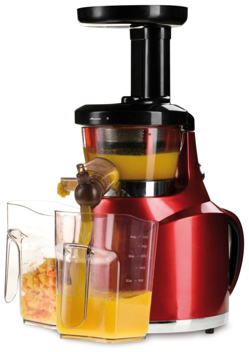 Slow Juicer Wattage : HOWELL Estrattore di Succo Frutta e verdura Slow Juicer Potenza 150 Watt - HO.SJ616 - 127168