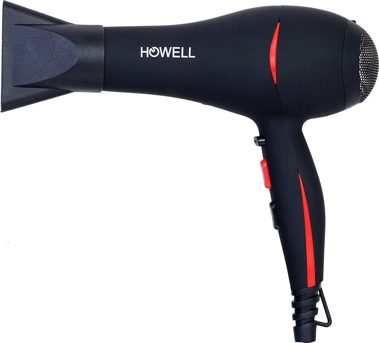 HOWELL Phon Asciugacapelli Asciuga Capelli Professionale 2000 W Hp2026Pro