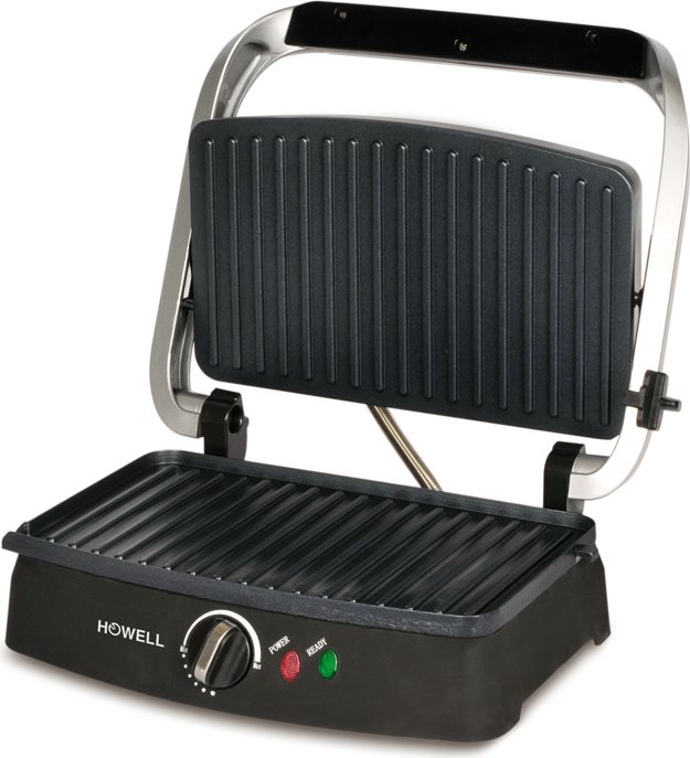 HOWELL Tostapane Professionale Tostiera Piastra Toast 1600W - HO.HPM200
