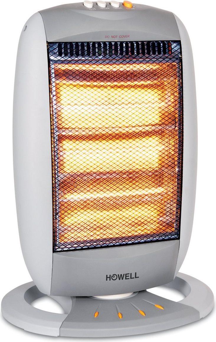Howell stufa elettrica alogena a basso consumo potenza max 1200 watt oscillante sa1214 - Stufetta elettrica a basso consumo ...