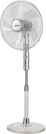 HOWELL Ventilatore a Piantana con Timer a Pale ø 48 cm Oscillante VEP521PRO