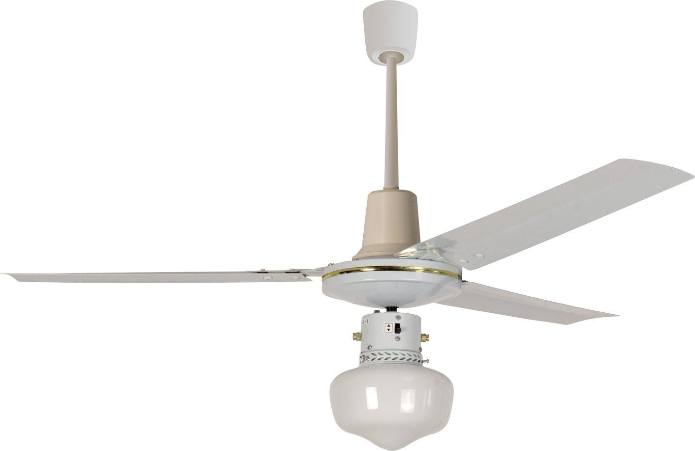 HOWELL Ventilatore Soffitto con Telecomando Luce 3 Pale ø 120 cm VSR1212