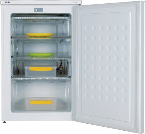 Congelatore verticale a cassetti haier hfz 136aa in for Congelatore verticale a