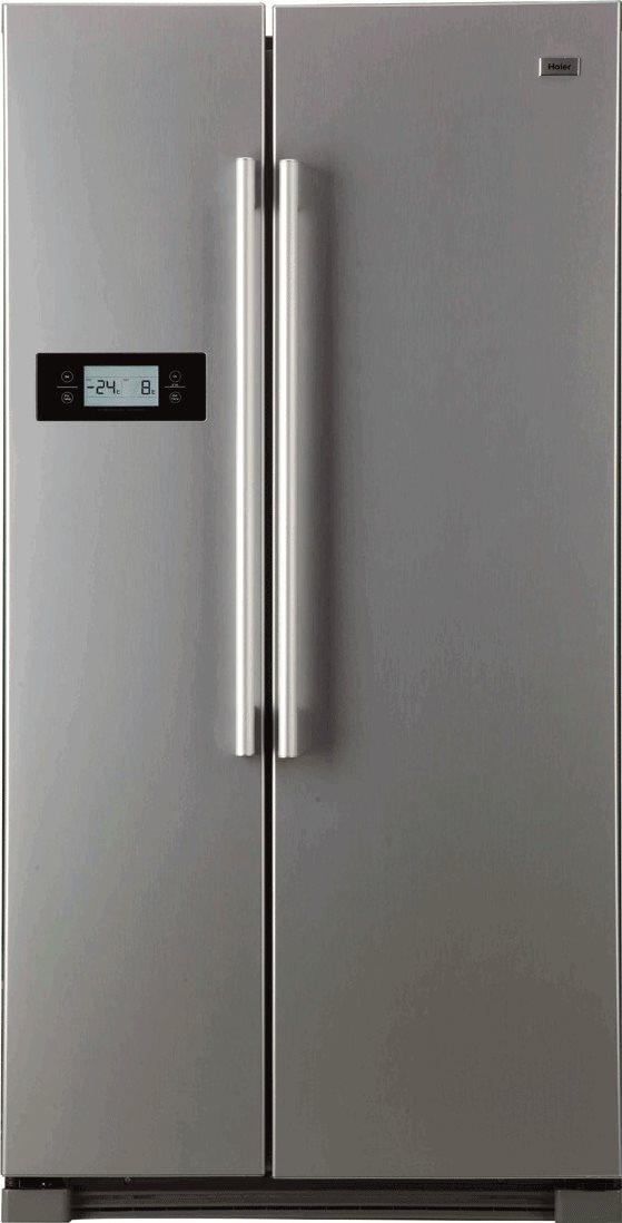 frigorifero americano frigo side by side no frost haier. Black Bedroom Furniture Sets. Home Design Ideas