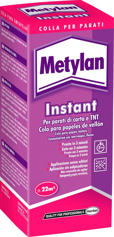 Henkel Colla Adesivo per Carta da Parati confezione 200 gr Metylan Instant