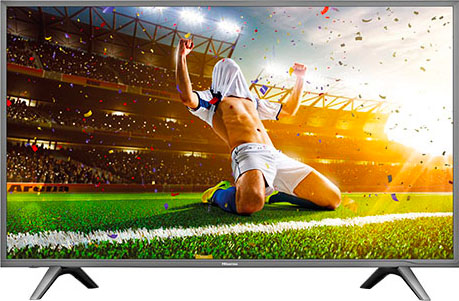 "Hisense TV LED 43"" 4K Ultra HD DVB T2S2 Smart Tv Internet Tv Wifi H43N5705 ITA"