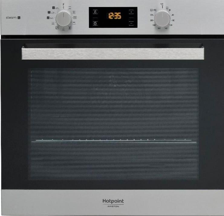 Hotpoint ariston forno elettrico da incasso ventilato con grill capacit 71 litri classe - Forno ad incasso ventilato ...