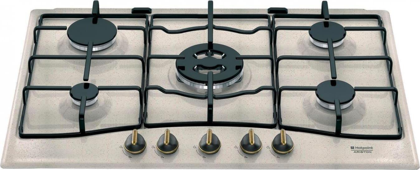 Hotpoint Ariston Piano Cottura 5 Fuochi a gas da incasso (1 ...