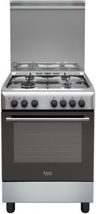 Hotpoint Ariston Cucina a Gas 4 Fuochi Forno Elettrico Multifunzione ...
