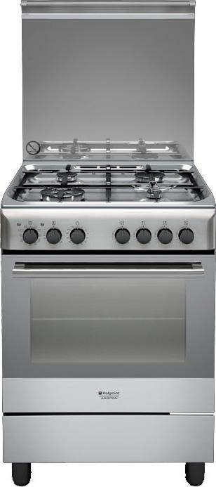Hotpoint ariston cucina a gas 4 fuochi forno elettrico - Cucina a gas ariston ...