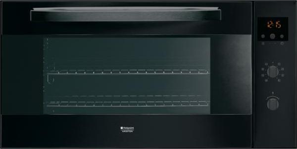 Forno ariston mh 99 1 bk ha forno da incasso 90 cm - Forno ventilato da incasso ...
