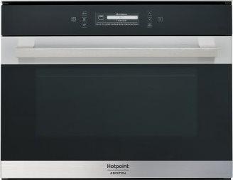 Hotpoint ariston forno a microonde da incasso combinato ventilato con grill capacit 40 litri - Forno elettrico e microonde combinato da incasso ...