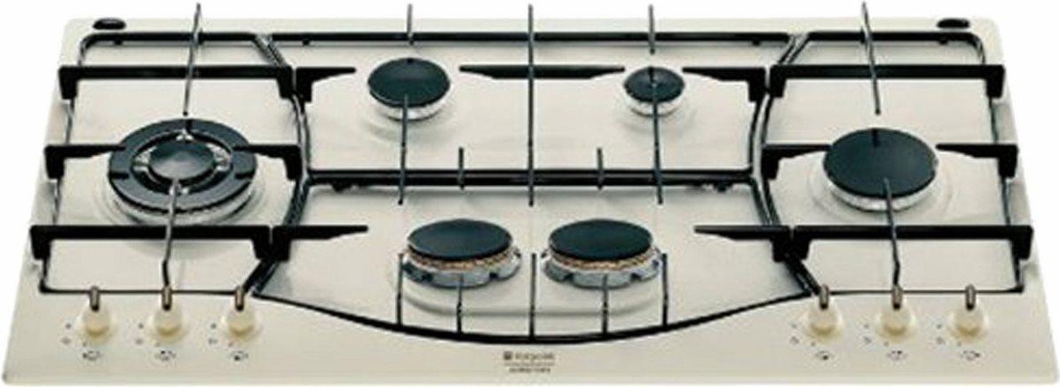 Piano Cottura Hotpoint Ariston Gas 6 Fuochi 90 cm PH 960MST (OW) R ...