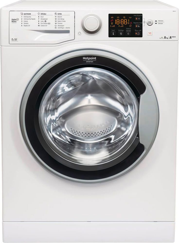Hotpoint Ariston RSG 823 S IT Lavatrice Carica frontale 8 Kg A+++ 61 cm 1200 giri RSG 823S IT