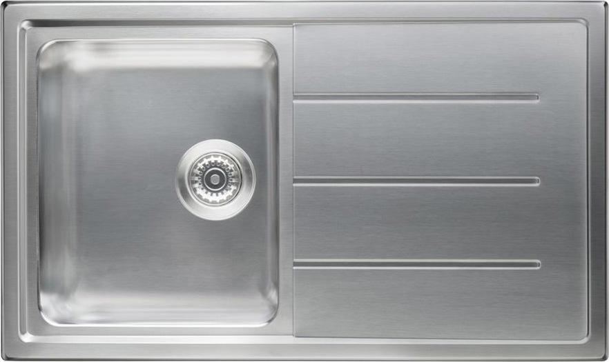 Lavello Cucina 90 Cm.Lavello Cucina Ariston Hotpoint Sk 8630w1s X Ha 1 Vasca Inox Prezzoforte