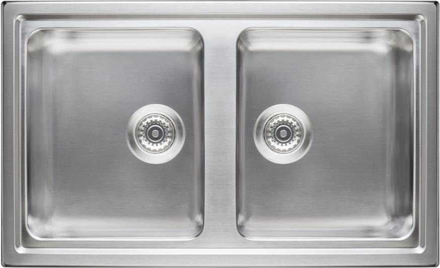 Lavello Cucina Ariston Hotpoint SK 8630W2 X HA 2 Vasche Inox Prezzoforte