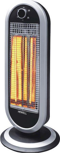 HOWELL Stufa Stufetta Elettrica basso consumo carbonio 1000 W Oscillante RSC1213