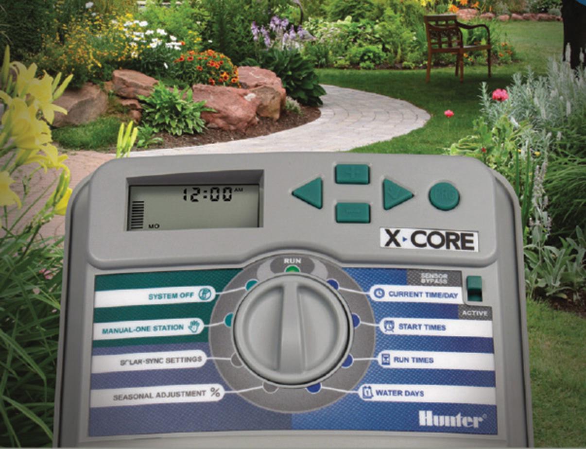 Hunter centralina per irrigazione programmatore batteria for Centralina per irrigazione a batteria