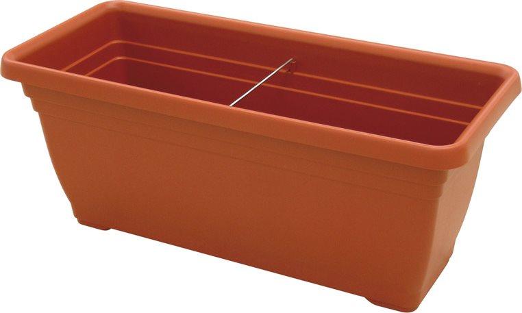Fioriere In Plastica 80 Cm.Ics Vaso In Plastica Per Piante E Fiori Fioriera Rettangolare Per