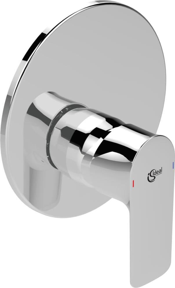 Prezzi Rubinetteria Ideal Standard.Ideal Standard Miscelatore Doccia Incasso A Parete Rubinetto Bagno Monocomando Solo Parti Esterne A7036aa Serie Connect Air