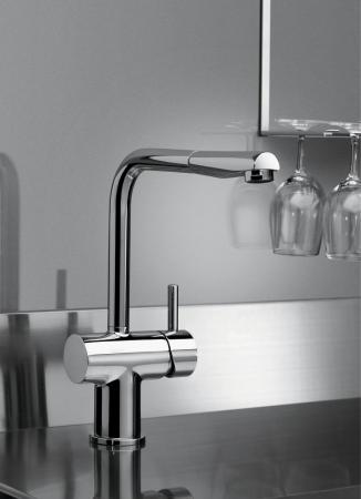 Ideal standard miscelatore cucina rubinetto monocomando a parete colore cromo linea cera j - Rubinetto cucina ideal standard ...